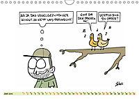 Steffen Huber Cartoons - 2019 (Wandkalender 2019 DIN A4 quer) - Produktdetailbild 6