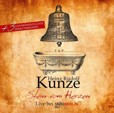 stein vom herzen live bei radio berlin von heinz r kunze. Black Bedroom Furniture Sets. Home Design Ideas