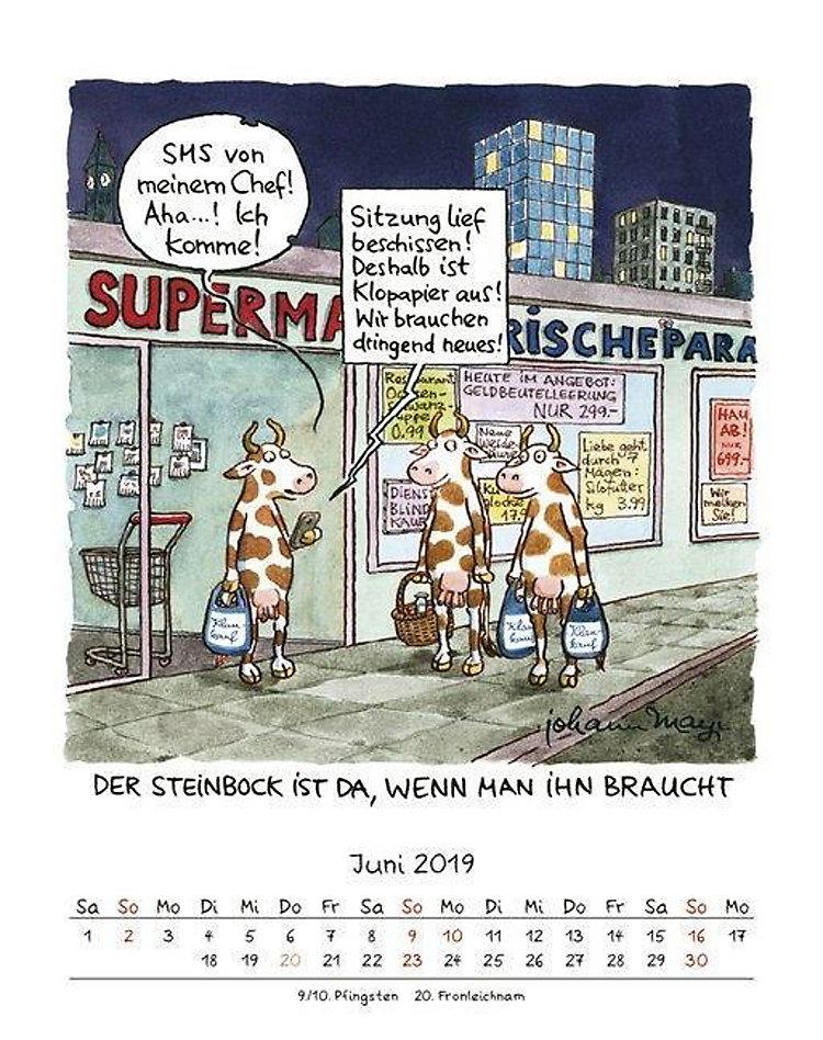 Steinbock 2019 Kalender Jetzt Günstig Bei Weltbildde