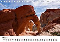 Steinbögen im Südwesten der USA (Tischkalender 2019 DIN A5 quer) - Produktdetailbild 5
