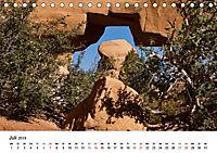 Steinbögen im Südwesten der USA (Tischkalender 2019 DIN A5 quer) - Produktdetailbild 7