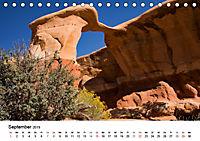 Steinbögen im Südwesten der USA (Tischkalender 2019 DIN A5 quer) - Produktdetailbild 9