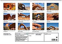Steinbögen im Südwesten der USA (Wandkalender 2019 DIN A2 quer) - Produktdetailbild 13