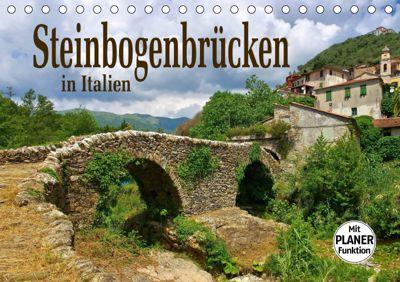 Steinbogenbrücken in Italien (Tischkalender 2019 DIN A5 quer), LianeM