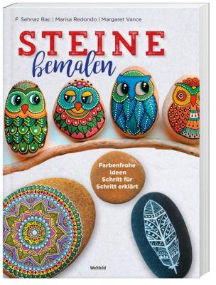 Steine bemalen - Farbenfrohe Ideen Schritt für Schritt erklärt