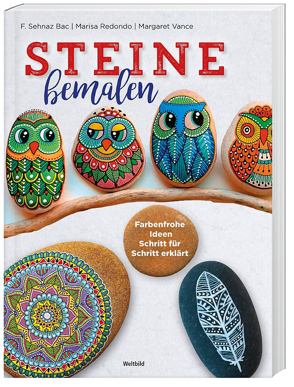 Steine Bemalen Farbenfrohe Ideen Schritt Für Schritt Erklärt