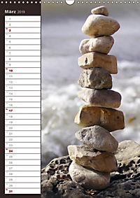 Steinmanderl - Der Steinmännchen Geburtstagskalender (Wandkalender 2019 DIN A3 hoch) - Produktdetailbild 3
