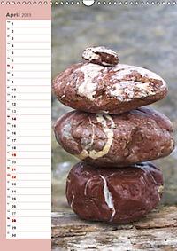 Steinmanderl - Der Steinmännchen Geburtstagskalender (Wandkalender 2019 DIN A3 hoch) - Produktdetailbild 4