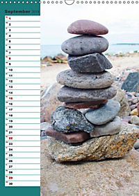 Steinmanderl - Der Steinmännchen Geburtstagskalender (Wandkalender 2019 DIN A3 hoch) - Produktdetailbild 9