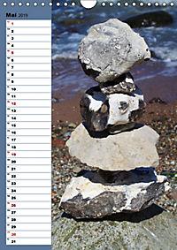Steinmanderl - Der Steinmännchen Geburtstagskalender (Wandkalender 2019 DIN A4 hoch) - Produktdetailbild 5