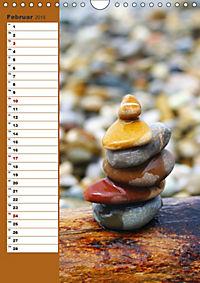Steinmanderl - Der Steinmännchen Geburtstagskalender (Wandkalender 2019 DIN A4 hoch) - Produktdetailbild 2
