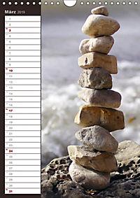 Steinmanderl - Der Steinmännchen Geburtstagskalender (Wandkalender 2019 DIN A4 hoch) - Produktdetailbild 3