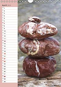 Steinmanderl - Der Steinmännchen Geburtstagskalender (Wandkalender 2019 DIN A4 hoch) - Produktdetailbild 4
