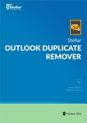 Stellar Outlook Duplicate Remover