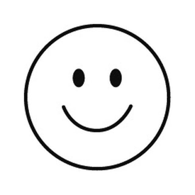 stempel mini fröhlicher smiley jetzt bei weltbildde bestellen