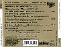 Stenhammer:Theatermusik - Produktdetailbild 1