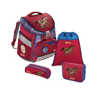 Step by Step COMFORT Schulranzen-Set Horse Family, 4-teilig