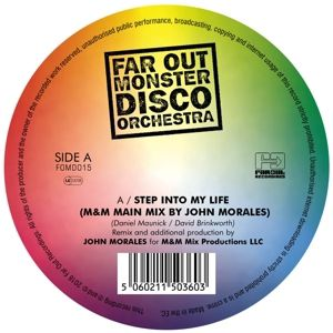 Step Into My Life/The Two Of Us-Rmxs (180g), Far Out Monster Disco Orchestra