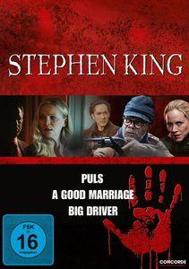 Stephen King - Puls / A Good Marriage / Big Driver, Stephen King Box, 3dvd