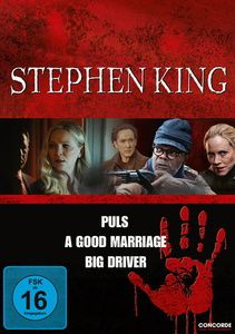 Stephen King - Puls / A Good Marriage / Big Driver, Stephen King Box, 3dvd