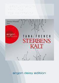 Sterbenskalt, 1 MP3-CD, Tana French