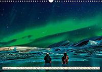 Sternenhimmel im magischen Licht - Polarlicht und Milchstraße (Wandkalender 2019 DIN A3 quer) - Produktdetailbild 1