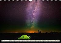 Sternenhimmel im magischen Licht - Polarlicht und Milchstraße (Wandkalender 2019 DIN A3 quer) - Produktdetailbild 7