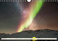 Sternenhimmel im magischen Licht - Polarlicht und Milchstraße (Wandkalender 2019 DIN A4 quer) - Produktdetailbild 2