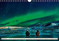 Sternenhimmel im magischen Licht - Polarlicht und Milchstraße (Wandkalender 2019 DIN A4 quer) - Produktdetailbild 1