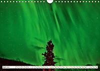 Sternenhimmel im magischen Licht - Polarlicht und Milchstraße (Wandkalender 2019 DIN A4 quer) - Produktdetailbild 4