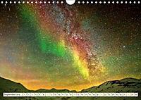 Sternenhimmel im magischen Licht - Polarlicht und Milchstraße (Wandkalender 2019 DIN A4 quer) - Produktdetailbild 9