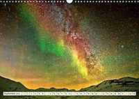 Sternenhimmel im magischen Licht - Polarlicht und Milchstraße (Wandkalender 2019 DIN A3 quer) - Produktdetailbild 9