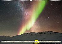 Sternenhimmel im magischen Licht - Polarlicht und Milchstraße (Wandkalender 2019 DIN A2 quer) - Produktdetailbild 2