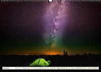 Sternenhimmel im magischen Licht - Polarlicht und Milchstraße (Wandkalender 2019 DIN A2 quer) - Produktdetailbild 7