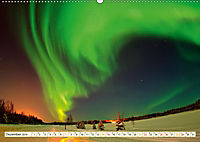 Sternenhimmel im magischen Licht - Polarlicht und Milchstraße (Wandkalender 2019 DIN A2 quer) - Produktdetailbild 12