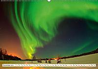 Sternenhimmel im magischen Licht - Polarlicht und Milchstrasse (Wandkalender 2019 DIN A2 quer) - Produktdetailbild 12