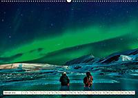 Sternenhimmel im magischen Licht - Polarlicht und Milchstraße (Wandkalender 2019 DIN A2 quer) - Produktdetailbild 1