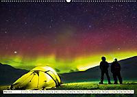 Sternenhimmel im magischen Licht - Polarlicht und Milchstraße (Wandkalender 2019 DIN A2 quer) - Produktdetailbild 5