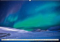 Sternenhimmel im magischen Licht - Polarlicht und Milchstraße (Wandkalender 2019 DIN A2 quer) - Produktdetailbild 8