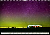 Sternenhimmel im magischen Licht - Polarlicht und Milchstraße (Wandkalender 2019 DIN A2 quer) - Produktdetailbild 11