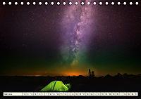 Sternenhimmel im magischen Licht - Polarlicht und Milchstraße (Tischkalender 2019 DIN A5 quer) - Produktdetailbild 7
