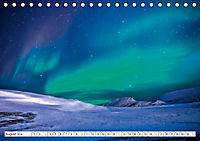 Sternenhimmel im magischen Licht - Polarlicht und Milchstraße (Tischkalender 2019 DIN A5 quer) - Produktdetailbild 8