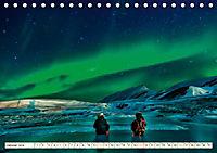 Sternenhimmel im magischen Licht - Polarlicht und Milchstraße (Tischkalender 2019 DIN A5 quer) - Produktdetailbild 1
