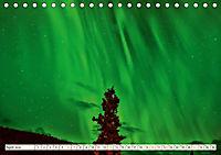 Sternenhimmel im magischen Licht - Polarlicht und Milchstraße (Tischkalender 2019 DIN A5 quer) - Produktdetailbild 4