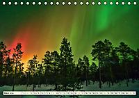 Sternenhimmel im magischen Licht - Polarlicht und Milchstraße (Tischkalender 2019 DIN A5 quer) - Produktdetailbild 3