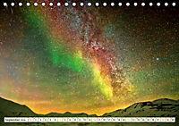 Sternenhimmel im magischen Licht - Polarlicht und Milchstraße (Tischkalender 2019 DIN A5 quer) - Produktdetailbild 9