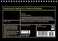 Sternenhimmel im magischen Licht - Polarlicht und Milchstraße (Tischkalender 2019 DIN A5 quer) - Produktdetailbild 13