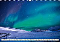Sternenhimmel im magischen Licht - Polarlicht und Milchstrasse (Wandkalender 2019 DIN A3 quer) - Produktdetailbild 8