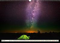 Sternenhimmel im magischen Licht - Polarlicht und Milchstrasse (Wandkalender 2019 DIN A3 quer) - Produktdetailbild 7