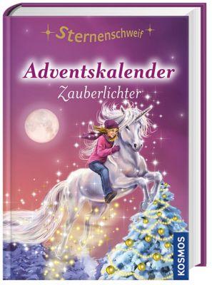 Sternenschweif Adventskalender, Zauberlichter, Linda Chapman